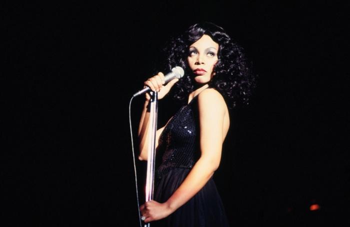 Donna Summer, la leyenda de la música disco, en un concierto en Atlanta (1978).